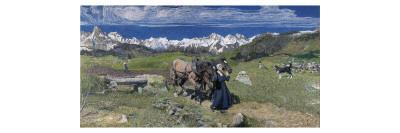 Spring in the Alps, 1897