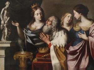 King Solomon's Wives Lead Him into Idolatry by Giovanni Venanzi di Pesaro