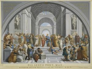 The School of Athens, Ca. 1771-79 by Giovanni Volpato