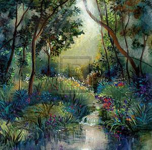 Woodland Flowers II by Giovanni