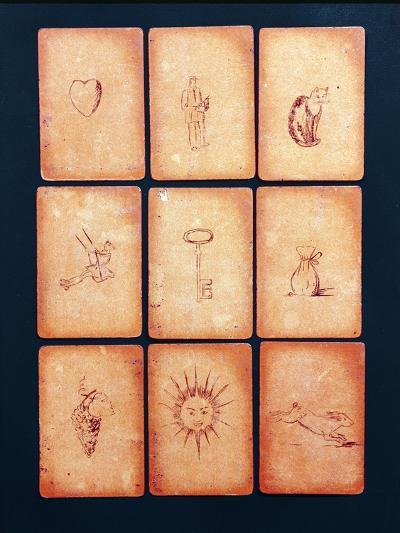 Gipsy Tarot Cards, Mid 20th Century--Giclee Print