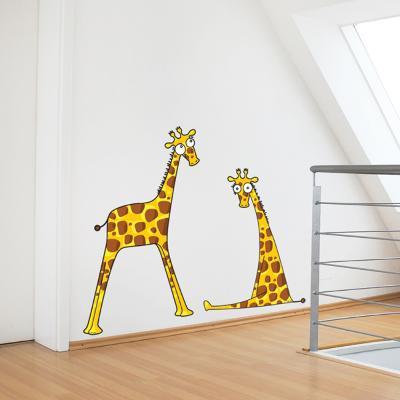 Giraffe Baby Boys Wall Decal--Wall Decal