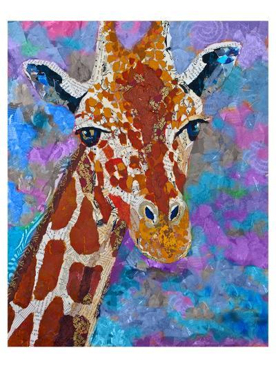 Giraffe Retouched--Art Print