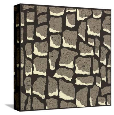 Giraffe Skin-Susan Clickner-Stretched Canvas Print
