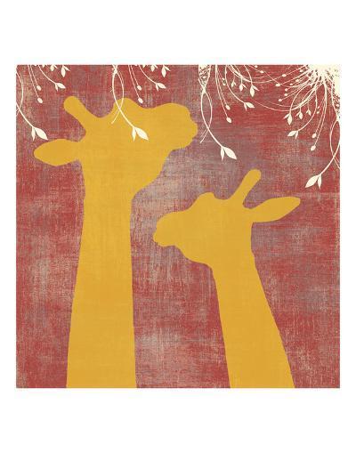 Giraffe-Erin Clark-Art Print