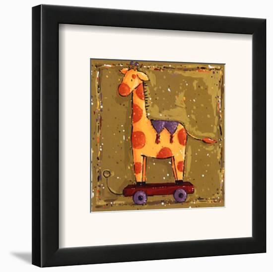 Giraffe-Wilma Sanchez-Framed Art Print