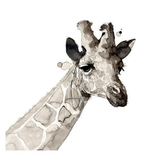 Giraffe-Philippe Debongnie-Giclee Print