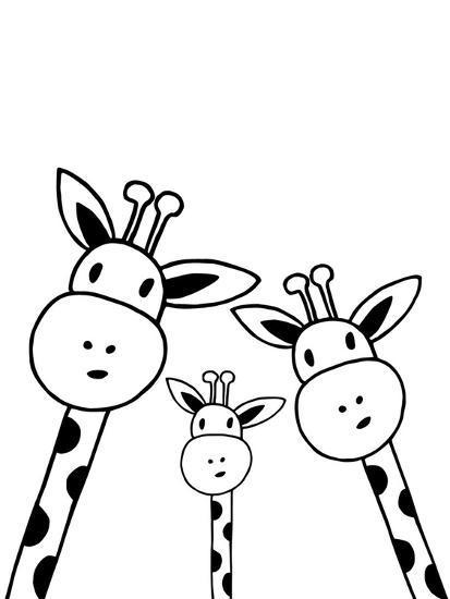 Giraffe-Nanamia Design-Art Print