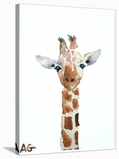 Giraffe-Allison Gray-Stretched Canvas Print