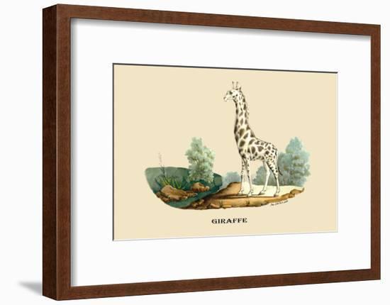 Giraffe-E.f. Noel-Framed Art Print