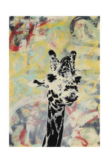 Giraffe-Urban Soule-Premium Giclee Print