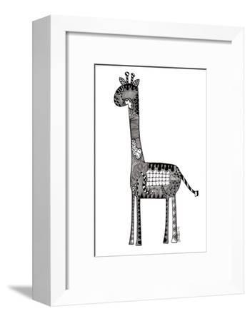 Giraffe-Georgina Naisbitt-Framed Giclee Print