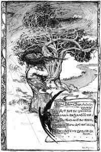 Blow, Blow, Thou Winter Wind, 1895 by Giraldo Eduardo Lobo de Moura