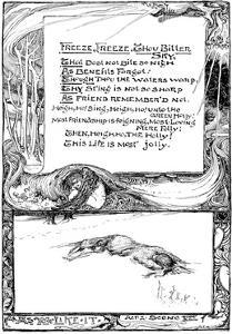 Freeze, Freeze, Thou Bitter Sky, 1895 by Giraldo Eduardo Lobo de Moura