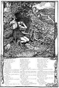 Song from Shakespeare's the Passionate Pilgrim, 1895 by Giraldo Eduardo Lobo de Moura