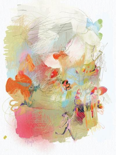 Girl Accomplishes Her Goal-Niya Christine-Art Print