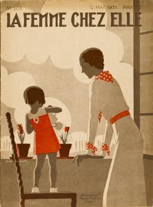 Girl and Mama Water Pots