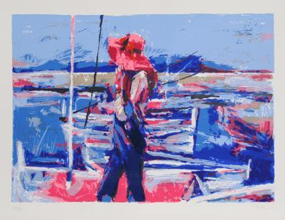 Girl at the Docks-Nicola Simbari-Limited Edition