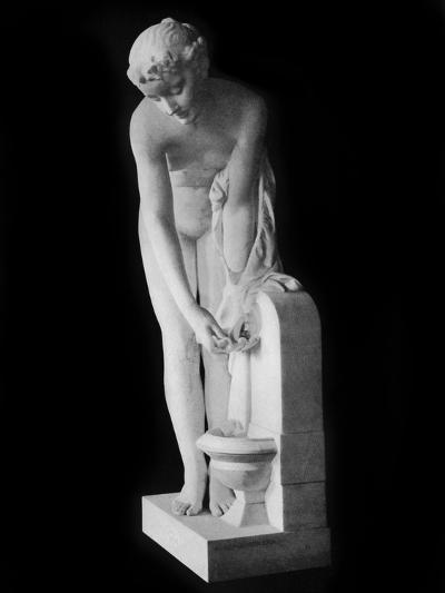 Girl at the Fountain, 19th Century-Alexandre Schoenewerk-Photographic Print