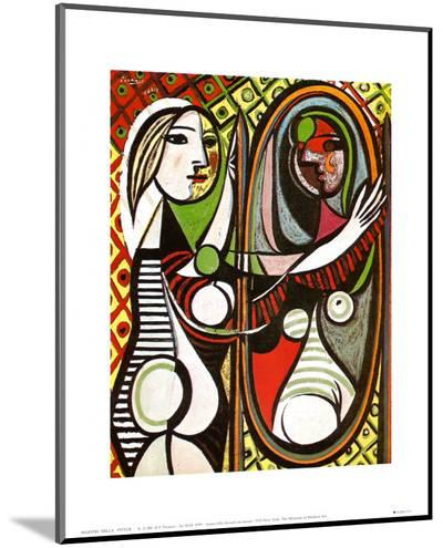 Girl Before a Mirror, c.1932-Pablo Picasso-Mounted Print