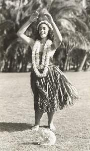 Girl Doing Hula