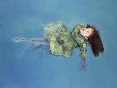 Girl Floating, 2004-Lucinda Arundell-Giclee Print