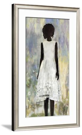 Girl in a Garden-Mark Chandon-Framed Art Print