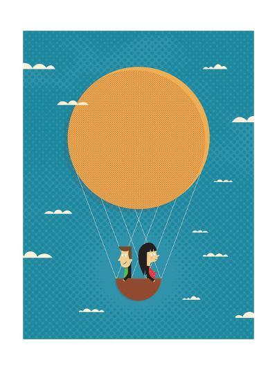 Girl in Love-Jeremie Claeys-Giclee Print