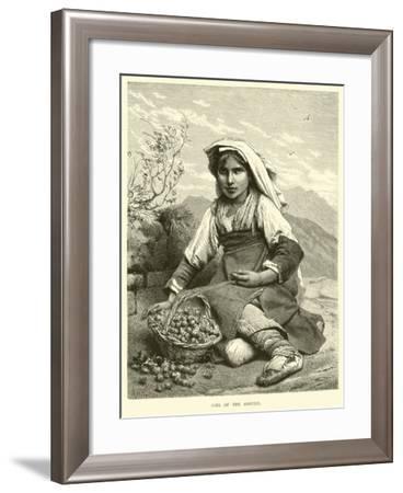 Girl of the Abruzzi--Framed Giclee Print