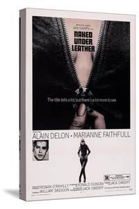 Girl on a Motorcycle, (Aka Naked under Leather), from Left: Alain Delon, Marianne Faithfull, 1968