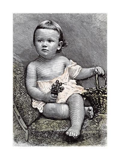 Girl on Chair, 1891--Giclee Print