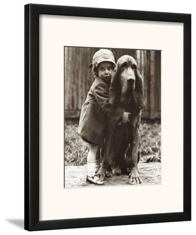 Girl's Best Friend--Framed Art Print