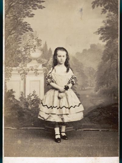 Girl's Costume--Photographic Print