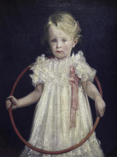 Girl with a Ring-Wladyslaw Podkowinski-Giclee Print