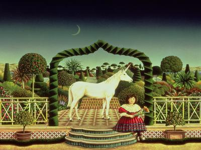 Girl with a Unicorn, 1980-Anthony Southcombe-Giclee Print