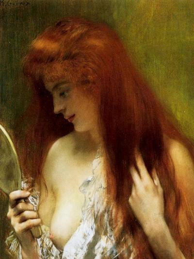 Girl with Red Hair-Henri Gervex-Giclee Print