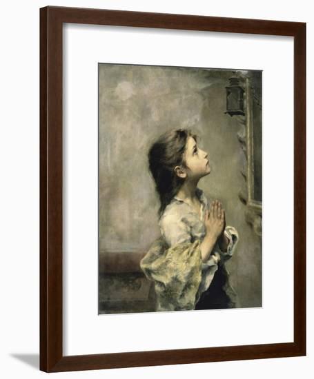 Girl-Roberto Ferruzzi-Framed Giclee Print