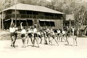Girls Basketball Practice