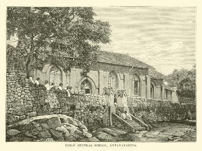 Girls' Central School, Antananarivo--Giclee Print