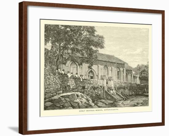 Girls' Central School, Antananarivo--Framed Giclee Print
