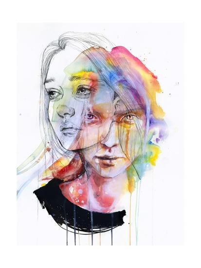 Girls Change Colors-Agnes Cecile-Art Print