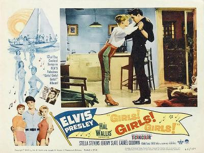 Girls! Girls! Girls!, 1962--Art Print