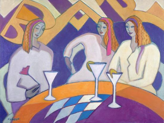 Girls Night Out, 2003-04-Jeanette Lassen-Giclee Print