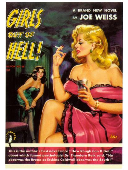 Girls Out of Hell!-George Gross-Art Print