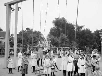 Girls Playground, Harriet Island, St. Paul, Minn.--Photo