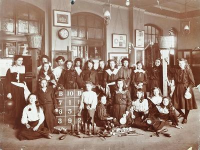 Girls Sports Club Members, Cromer Street School/Argyle School, St Pancras, London, 1906--Photographic Print