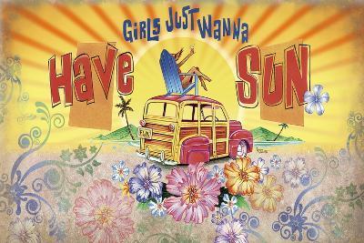 Girls Wanna Sun- James and Kathleen Mazzotta-Giclee Print