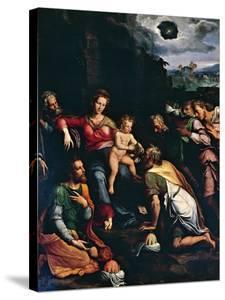 Adoration of the Magi, 1532 by Girolamo da Carpi