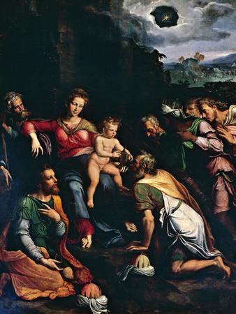 Adoration of the Magi, 1532