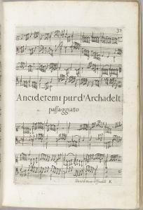 Il secondo libro di toccate. Canzone versi d'hinni magnificat gagliarde... : page 37 by Girolamo Frescolbaldi